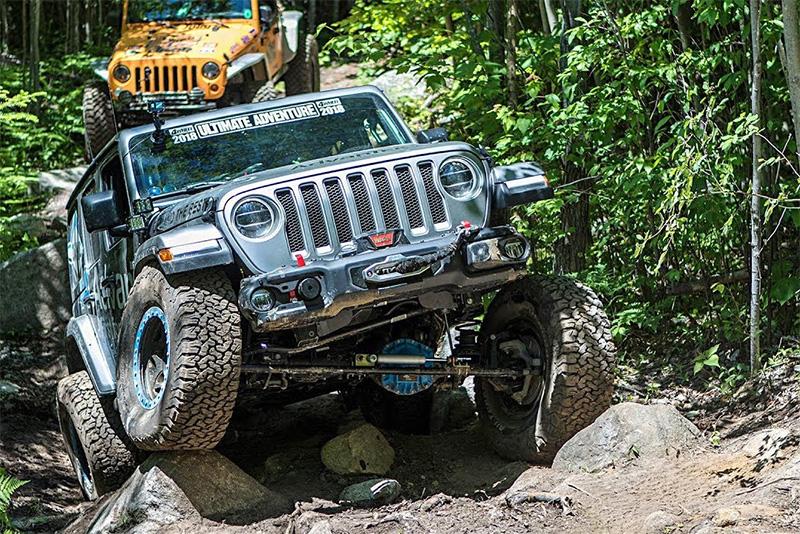 news,Maine,Rocky Mountain Terrain Park,boulders,rocks,mud terrain,off-road,4x4,MotorTrend,Ultimate Adventure 2018,Off-roading,Automotive,